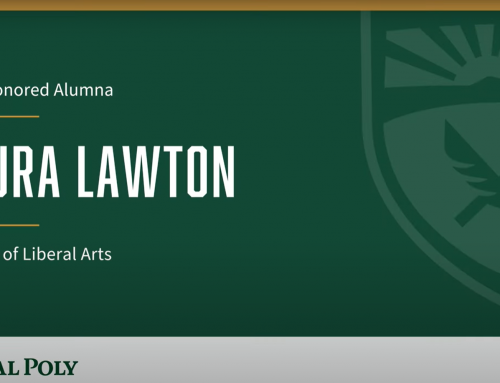 Laura Lawton Honored as Distinguished Alumna by Cal Poly